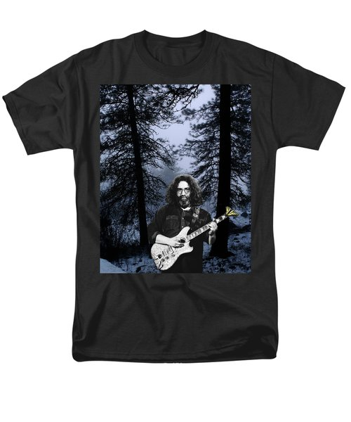 Men's T-Shirt  (Regular Fit) featuring the photograph Jerry Cold Rain And Snow by Ben Upham