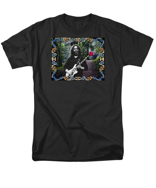 Men's T-Shirt  (Regular Fit) featuring the photograph Jerry Road Rose 1 by Ben Upham
