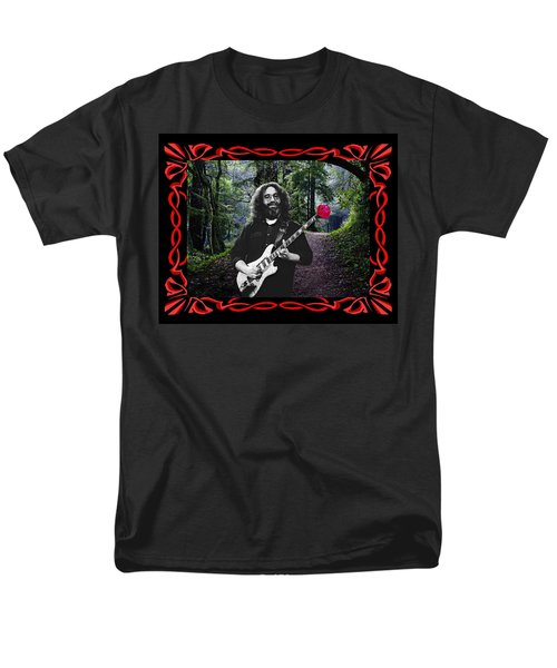Men's T-Shirt  (Regular Fit) featuring the photograph Jerry Road Rose 2 by Ben Upham
