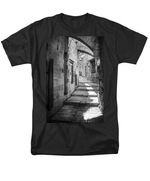 Jerusalem Street Men's T-Shirt  (Regular Fit) by Alexey Stiop