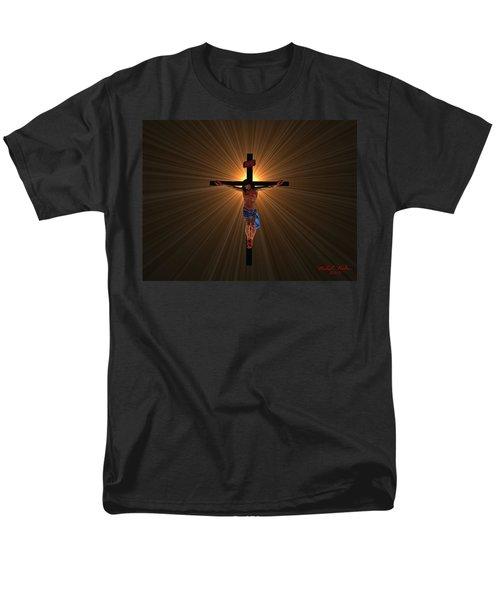 Jesus Christ Men's T-Shirt  (Regular Fit) by Michael Rucker