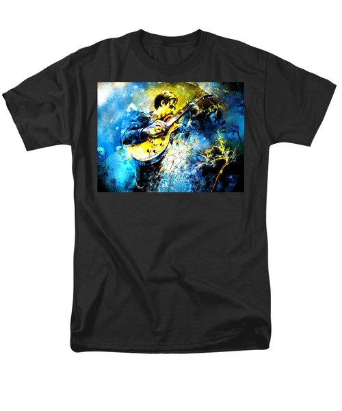 Joe Bonamassa 01 Bis Men's T-Shirt  (Regular Fit) by Miki De Goodaboom
