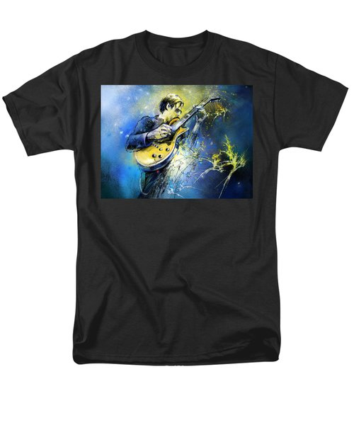 Joe Bonamassa 01 Men's T-Shirt  (Regular Fit) by Miki De Goodaboom