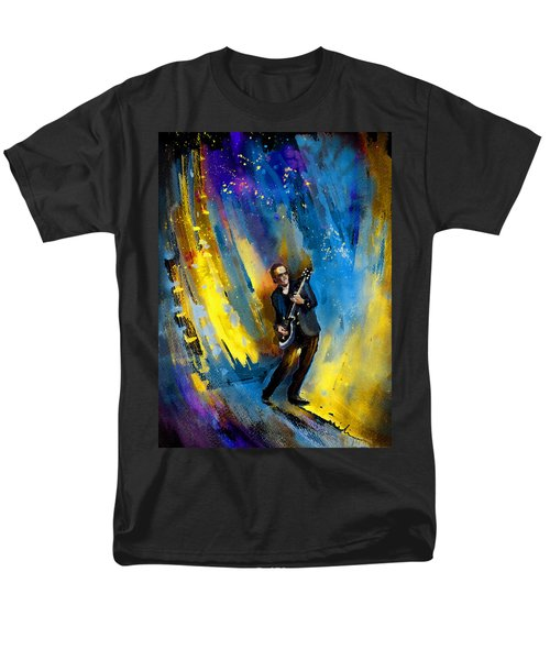Joe Bonamassa 03 Men's T-Shirt  (Regular Fit) by Miki De Goodaboom