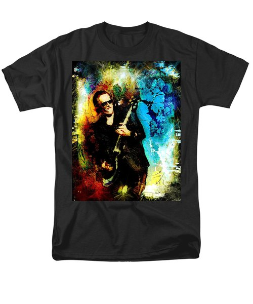 Joe Bonamassa Madness Men's T-Shirt  (Regular Fit) by Miki De Goodaboom