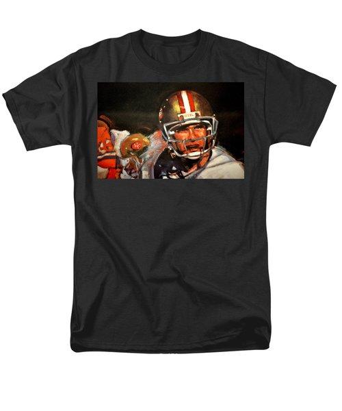 Joe Montana Men's T-Shirt  (Regular Fit) by Jay Milo