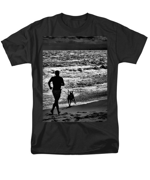 Joggin Wit Dad Men's T-Shirt  (Regular Fit) by Robert McCubbin