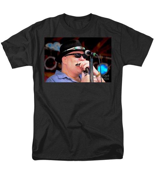 John Popper Men's T-Shirt  (Regular Fit) by Angela Murray