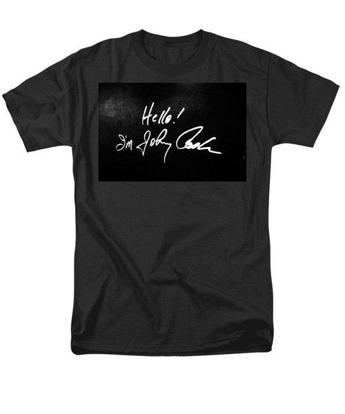 Johnny Cash Museum Men's T-Shirt  (Regular Fit) by Dan Sproul