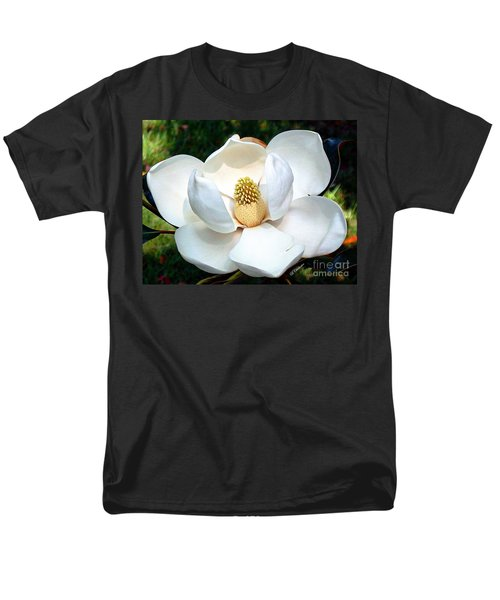 Men's T-Shirt  (Regular Fit) featuring the photograph John's Magnolia by Barbara Chichester