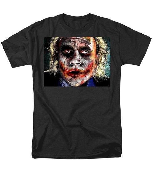 Joker Painting Men's T-Shirt  (Regular Fit) by Daniel Janda