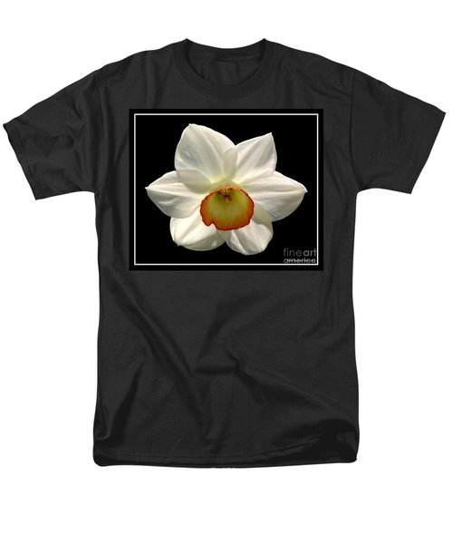 Men's T-Shirt  (Regular Fit) featuring the photograph Jonquil 1 by Rose Santuci-Sofranko