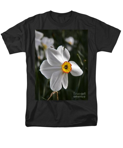 Men's T-Shirt  (Regular Fit) featuring the photograph Jonquil by Judy Via-Wolff