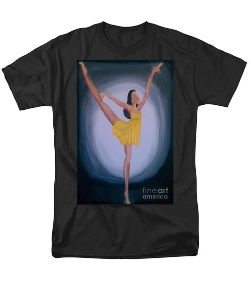 Men's T-Shirt  (Regular Fit) featuring the painting Joy by Marisela Mungia