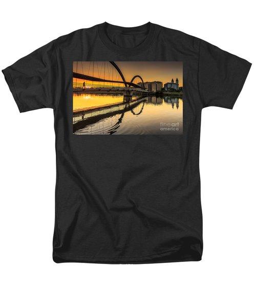 Jubia Bridge Naron Galicia Spain Men's T-Shirt  (Regular Fit) by Pablo Avanzini