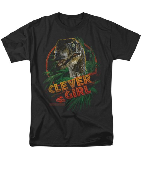 Jurassic Park - Clever Girl Men's T-Shirt  (Regular Fit) by Brand A