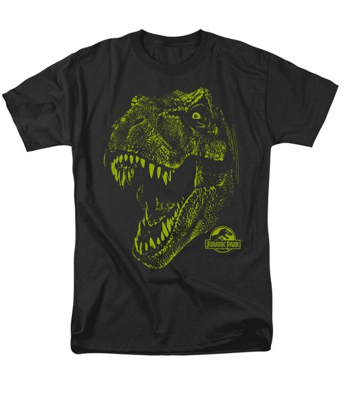 Jurassic Park - Rex Mount Men's T-Shirt  (Regular Fit) by Brand A