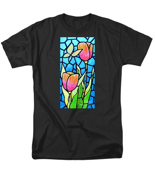 Men's T-Shirt  (Regular Fit) featuring the painting Just Visiting by Jim Harris