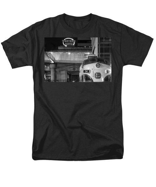 Kansas City Night Train Men's T-Shirt  (Regular Fit) by Steven Bateson