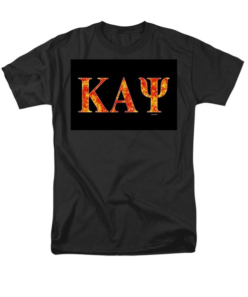 Kappa Alpha Psi - Black Men's T-Shirt  (Regular Fit) by Stephen Younts