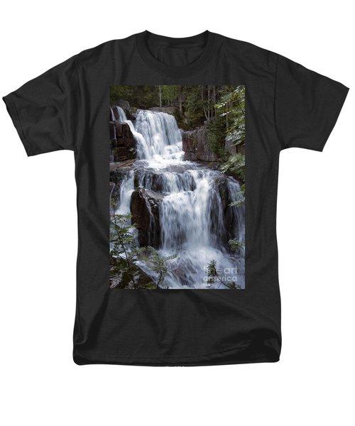 Katahdin Stream Falls Baxter State Park Maine Men's T-Shirt  (Regular Fit)