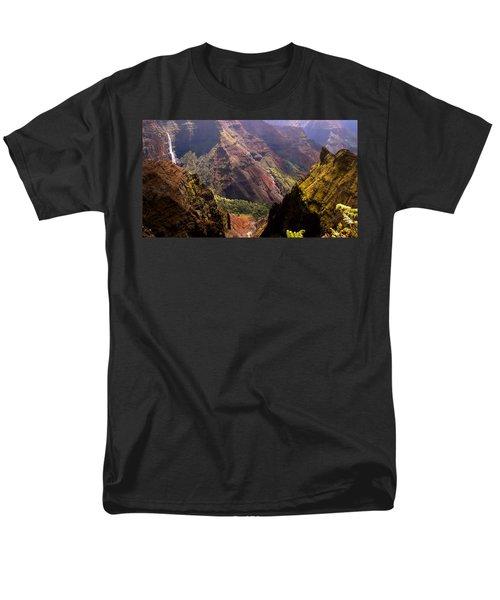Kauai Colors Men's T-Shirt  (Regular Fit) by Katie Wing Vigil