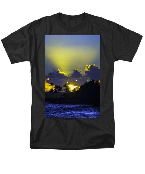 Kauai Sunset Men's T-Shirt  (Regular Fit) by Debbie Karnes