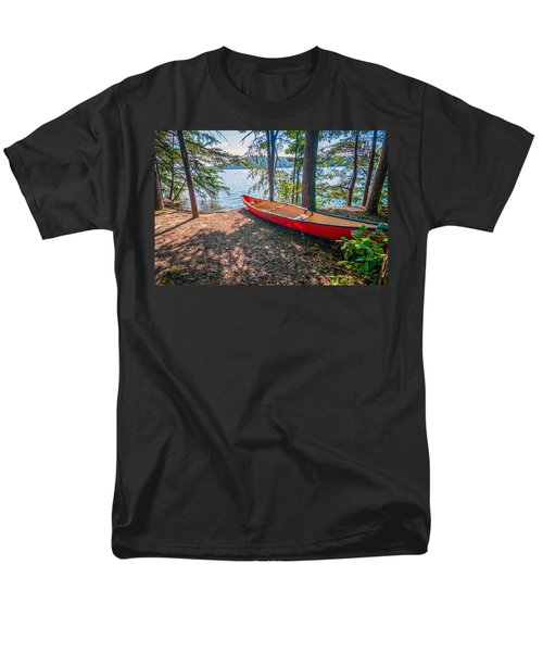 Kayak By The Water Men's T-Shirt  (Regular Fit) by Alex Grichenko