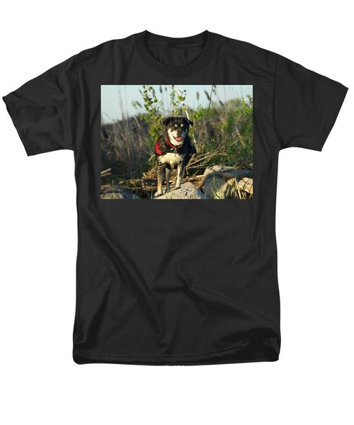 Men's T-Shirt  (Regular Fit) featuring the photograph Kayaker's Best Friend by James Peterson