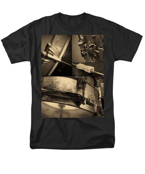 Keeping Time Men's T-Shirt  (Regular Fit) by Photographic Arts And Design Studio