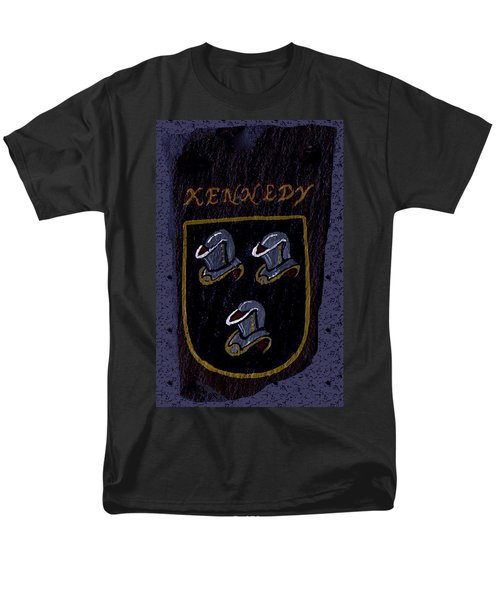 Men's T-Shirt  (Regular Fit) featuring the painting Kennedy Crest by Barbara McDevitt