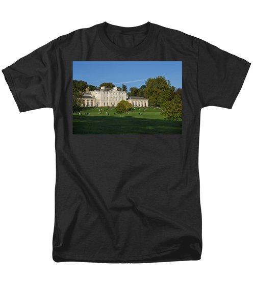 Kenwood House Hamstead Heathouse Men's T-Shirt  (Regular Fit) by Carol Ailles