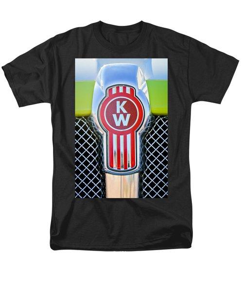 Kenworth Truck Emblem -1196c Men's T-Shirt  (Regular Fit) by Jill Reger