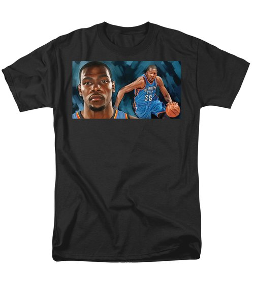 Kevin Durant Artwork Men's T-Shirt  (Regular Fit) by Sheraz A