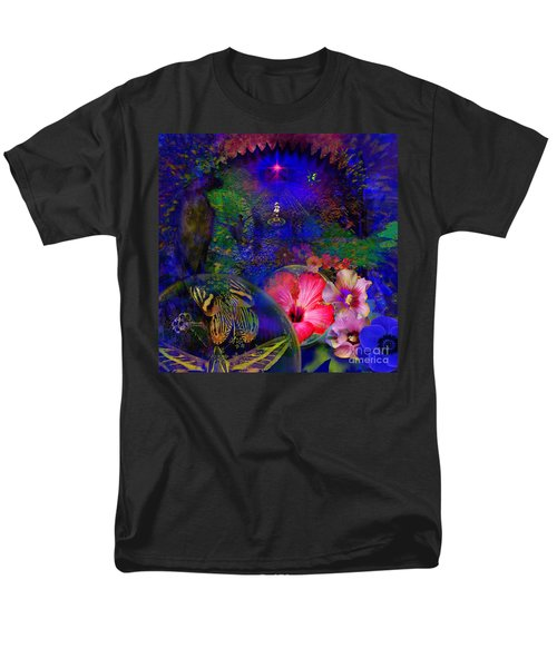 Solar Paradise Men's T-Shirt  (Regular Fit)
