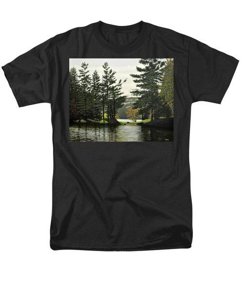 Men's T-Shirt  (Regular Fit) featuring the painting Killarney by Kenneth M  Kirsch