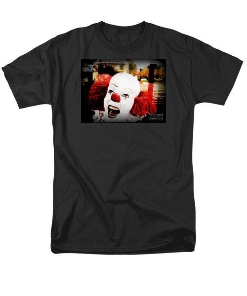Killer Clowns On The Loose Men's T-Shirt  (Regular Fit) by Kelly Awad
