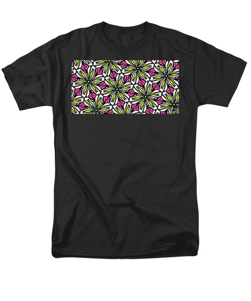 Men's T-Shirt  (Regular Fit) featuring the digital art Kind Of Cali-lily by Elizabeth McTaggart