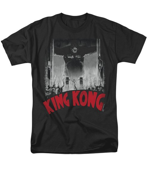 King Kong - At The Gates Poster Men's T-Shirt  (Regular Fit)