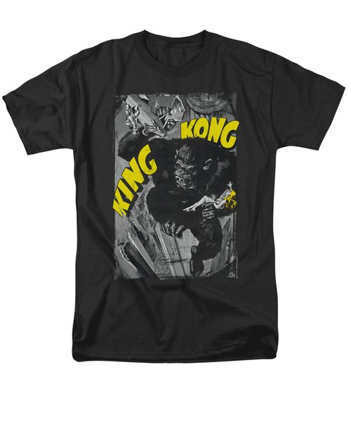 King Kong - Crushing Poster Men's T-Shirt  (Regular Fit)