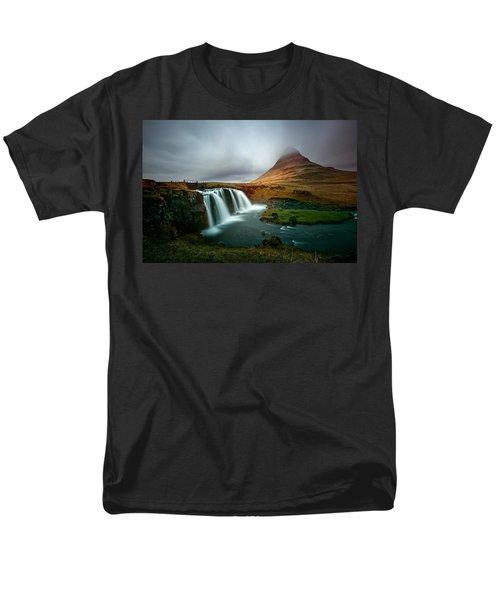 Kirkjufell Men's T-Shirt  (Regular Fit) by Ian Good
