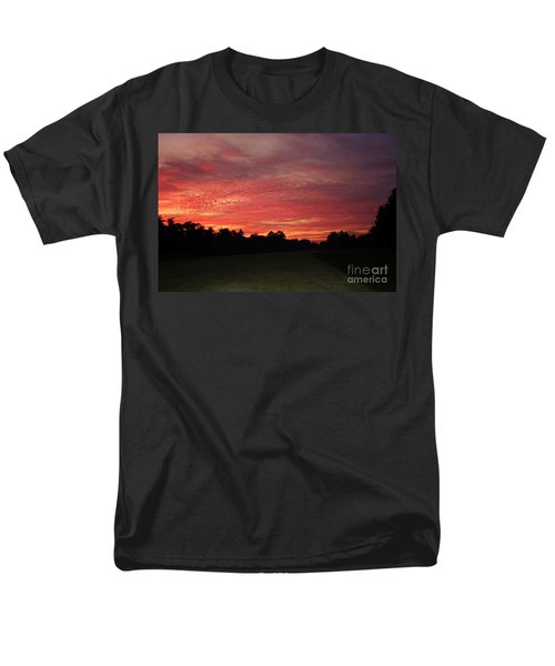 Men's T-Shirt  (Regular Fit) featuring the photograph Knock Knocking On Heavens Door by Polly Peacock