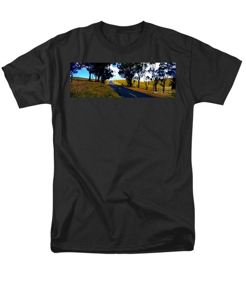 Kohala Mountain Road  Big Island Hawaii  Men's T-Shirt  (Regular Fit) by Tom Jelen