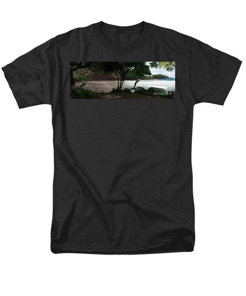 Koki Beach Hana Maui Hawaii Men's T-Shirt  (Regular Fit) by Sharon Mau