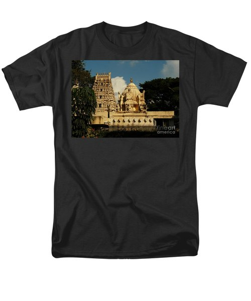 Kote Venkataramana Temple Men's T-Shirt  (Regular Fit) by Mini Arora