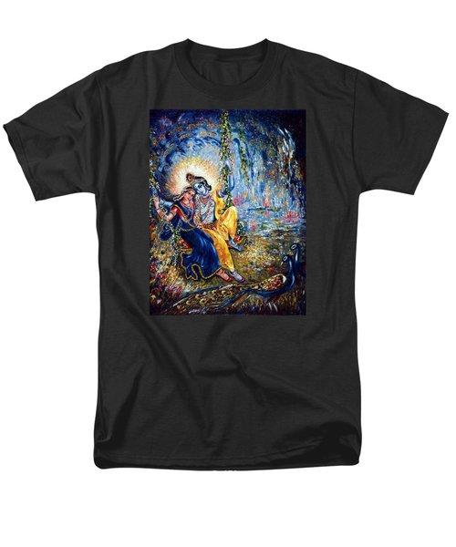 Krishna Leela Men's T-Shirt  (Regular Fit) by Harsh Malik
