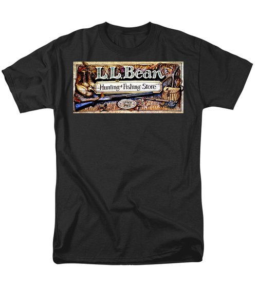 L. L. Bean Hunting And Fishing Store Since 1912 Men's T-Shirt  (Regular Fit) by Tara Potts