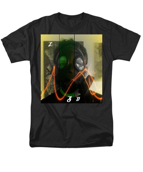 Men's T-Shirt  (Regular Fit) featuring the photograph L S D  Part Three by Sir Josef - Social Critic - ART