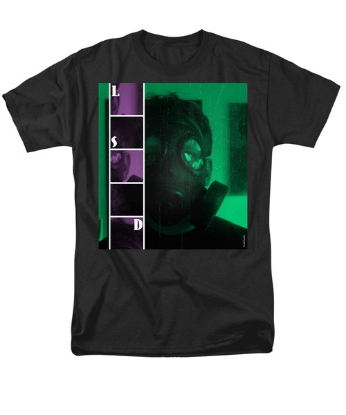 Men's T-Shirt  (Regular Fit) featuring the photograph L S D  Part Two by Sir Josef - Social Critic - ART