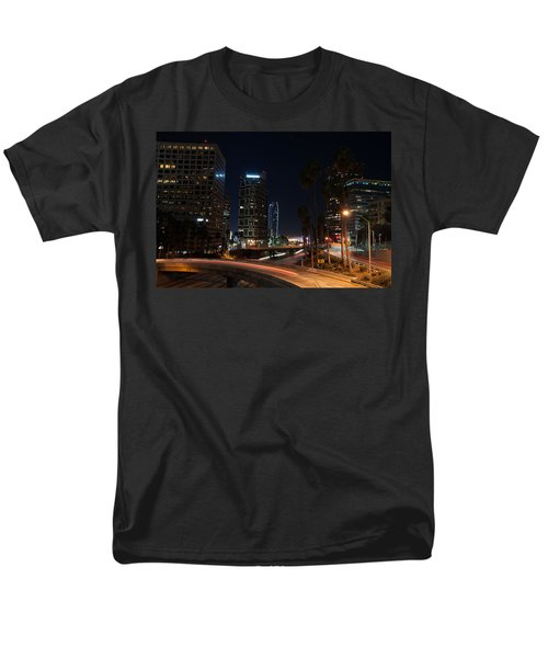 Men's T-Shirt  (Regular Fit) featuring the photograph La Down Town 2 by Gandz Photography